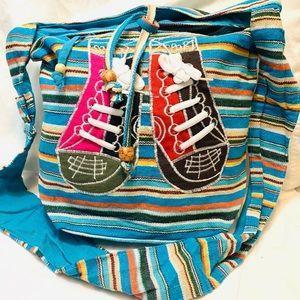 Beautiful multicolor side bag